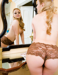 "Jannelle Priego is admiring her incredible body in the mirror, constantly remarking ""I can't believe how sexy I am,"" as her fingers tra"